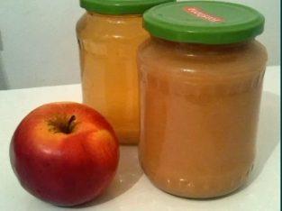 Piure/suc de mere de casa fara adaosuri pasteurizat natural pt copii