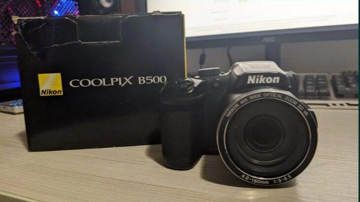 Nikon B500, Baterii incluse + card de memorie 8GB