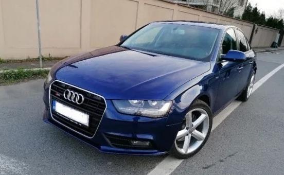 Audi A4 B8 Facelift S-line 2013