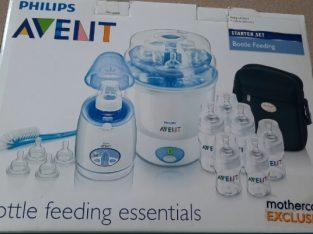 Set complet – sterilizator, incalzitor, accesorii toate Philips Avent