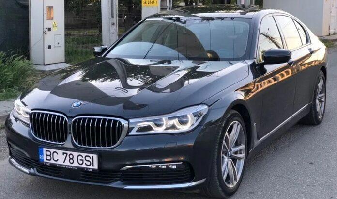 BMW Seria 7 BMW 740xd 320CP Faruri LASER
