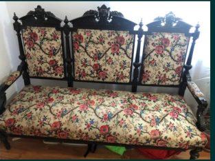 Canapea Lemn Trandafir 100+ Ani (vechime)