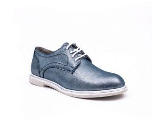 PantofI dama casual piele naturala, Catali-Shoes 191646, albastru – Catali