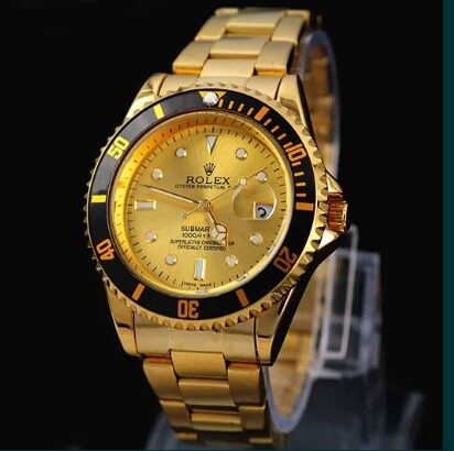 Ceas ROLEX SUBMARINER Gold Edition-Calit.1 110g