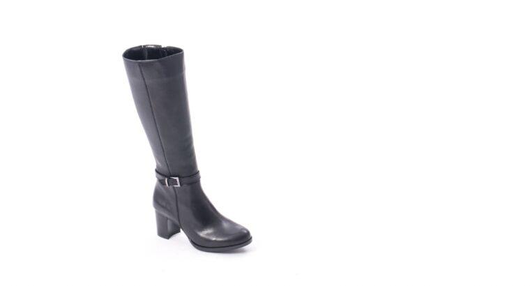 Cizme dama elegante piele naturala Catali 182880, negru – Catali