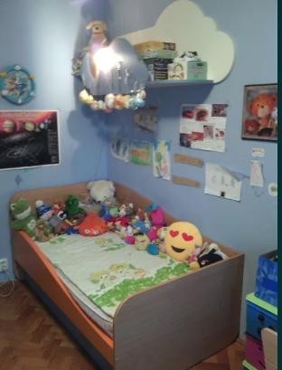 Mobilă cameră copil. Perdea, covor și plafonieră cadou