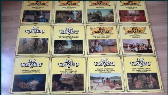 Discuri vinil/vinyl/Lp – Clasica – Colectie Das Konzert