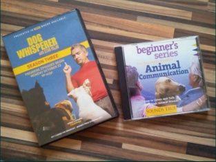 DVD si CD dresaj canin, pentru iubitorii de animale