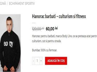 Hanorac barbati – culturism si fitness