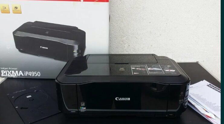 Imprimanta – Canon – Pixma – ip4950 – foto – cd – dvd