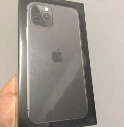 Iphone 11 PRO max 256GB black ,space gray sigilate , garantie 1 an
