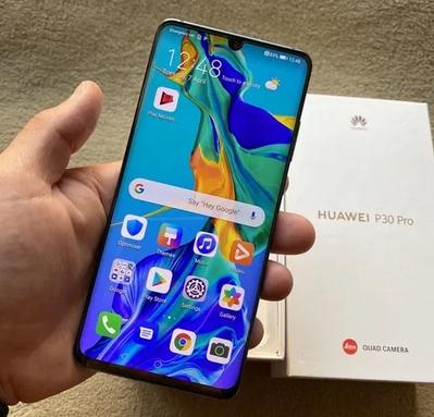 Huawei P30 Pro Blue, 128gb, Factura, Garantie, impecabil