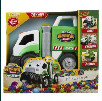 Camionul Dusty, Aspiratorul de jucarii