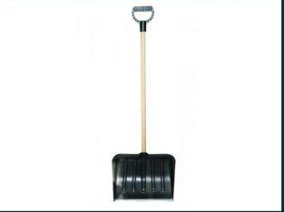 Lopata pentru zapada 45 cm cu maner si lama metalica, Top Garden