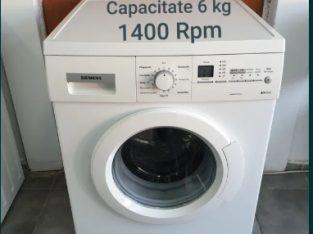 Mașină de spălat rufe Siemens. Model nou. PRET REAL.
