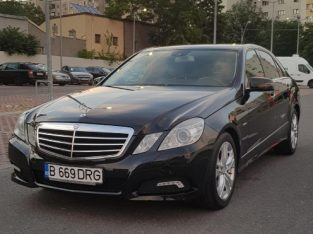 Mercedes Benz E250 – 204cp Blueefficiency , an fabricatie 2010