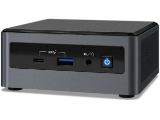 Mini PC Intel NUC i5 10210U, 8GB RAM, Intel UHD, 240GB SSD