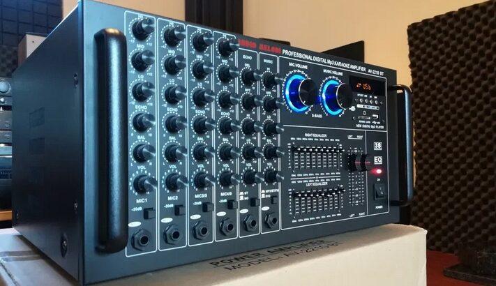 Amplificator de putere cu Mixer AudioM