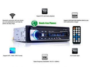 MP3 Player Casetofon auto USB SD Bluetooth 4x60W Telecomanda Garantie