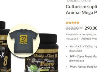 Culturism suplimente – Animal Mega Pak