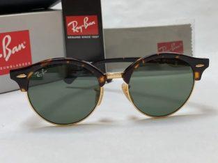 Ochelari de soare Ray Ban 4246 Clubround Noi