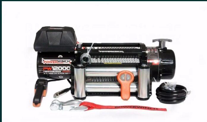 Troliu auto POWERWINCH Performance 12000 lbs 5.4T,off-road