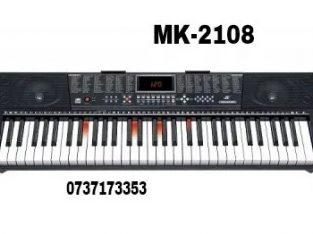 Orga electronica MK-2108, 61 clape cu led-uri
