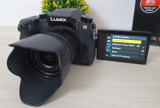 Panasonic G7 -4K mirrorless camera