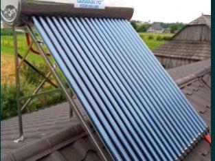 Panou SOLAR 200L 260L Apa Calda INOX Litri Nepresurizat Panouri Solare