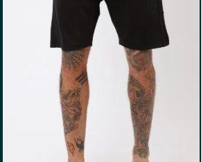 Pantaloni scurti RELIGION BADGE masura M L XL (editie2020)