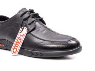 Pantofi barbati casual din piele naturala, OT E6YD95101 01-N, negru – Otter