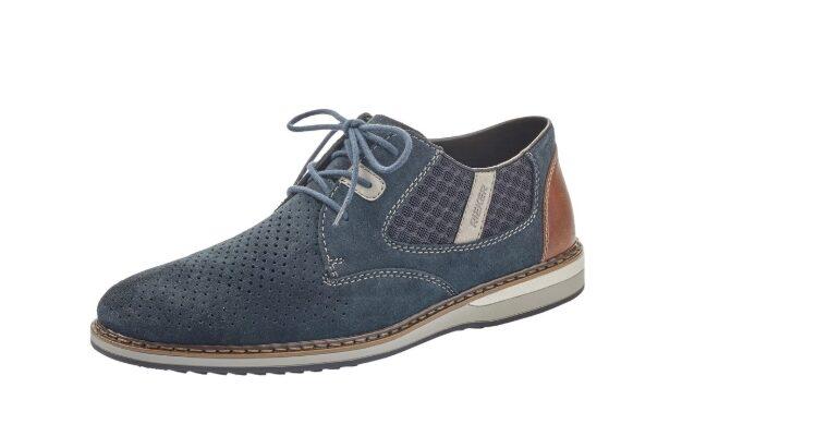 Pantofi casual barbati, piele naturala, RIK 16826-14 – Rieker