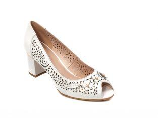 Pantofi dama de vara elegante, piele naturala, EP 259 – Epica
