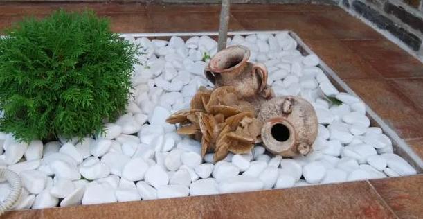 Oferta Piatra naturala decorativa marmura alba Thasos / piatra pavaj