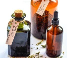 Tinctura din plante medicinale – 100% natural BIO