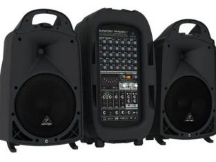 Sistem de sonorizare portabil Behringer PPA-2000BT