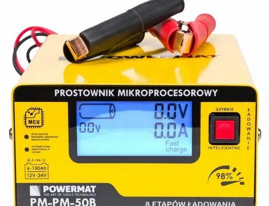 Redresor cu Microprocesor Powermat 50B Baterie 6V 12V