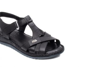 Sandale dama casual, piele naturala, Y2135 01-N – PASS Collection