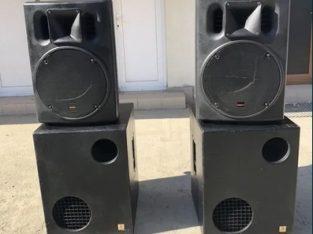 Sistem sonorizare profesional 1800w