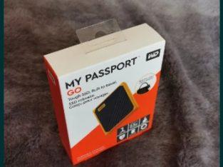 SSD Extern WD My Passport GO 1TB, USB 3.0, WDBMCG0010BYT-WESN