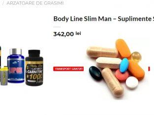 Body Line Slim Man – Suplimente Slabit Barbati