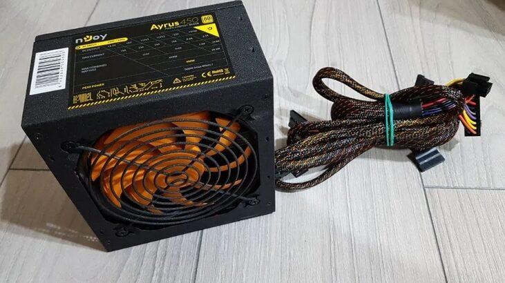 Sursa PC nJoy Ayrus 450W cu Alimentare PCI-e 6+2 Pini