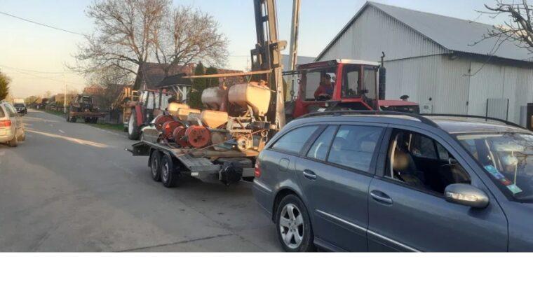 Transport auto Suceava tractari trailer, utilaje platform plus diverse