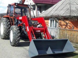 Tractor fiat 766 cu incarcator frontal adus recent