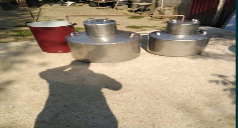 Vând cazane de țuică din inox sau cupru alimentar. Avem produse noi