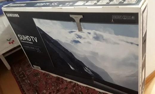 "TV LED 55"" Samsung 138cm"