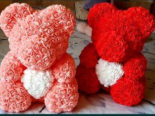Ursuleti trandafiri spuma 40 cm