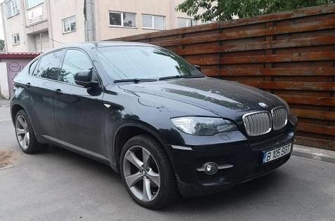 SUV Bmw X6 3.0 Diesel an de fabricatie 2011 full options