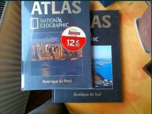 Atlasuri + carti National Geografic