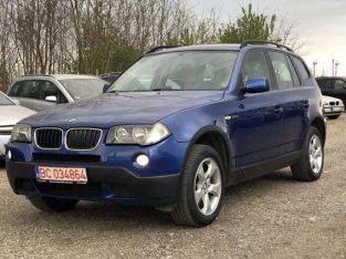 BMW X3 2007, 2.0, 4X4, Navi, Piele